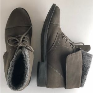 Madden Girl Ruxben 9.5 Gray Ankle Boots